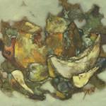 Артёмов В.З. (1942-2011). Плоды. 1990. Холст, масло