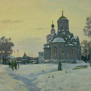 Дианов А.В. Андроников монастырь. 2007. Холст, масло