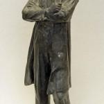 Кибальников А.П. (1912-1987). Н.Г.Чернышевский. Цинк, лакокрасочное покрытие