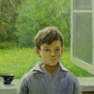 Мельникова Н.Н. (1917-2008). Весна-мальчик. 1998. Холст, масло
