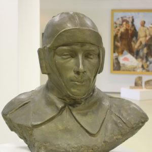 Нисс-Гольдман Н.И. (1893-1990). Портрет летчика. Нетускнеющий сплав