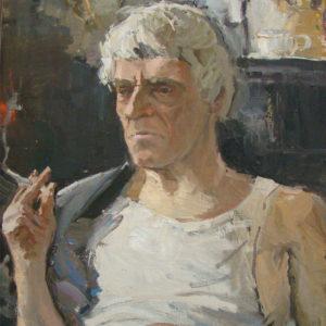 Пермиловский В.А. Портрет В.Скока. 2005. Холст, масло