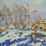 Полюшенко А.П. (1911-1985). Ранняя весна. Холст, масло
