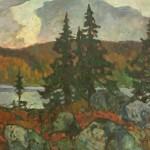 Степанов В.Д. В горах. (Хибины). 1985. Холст, масло
