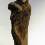 Торниязов Д. Фигура восточной женщины. Дерево, кость