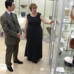 Открытие выставки японской керамики