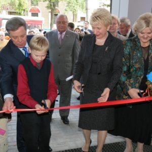 Открытие картинной галереи 6 сентября 2007 г.