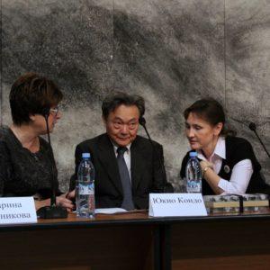 Пресс-конференция Юкио Кондо
